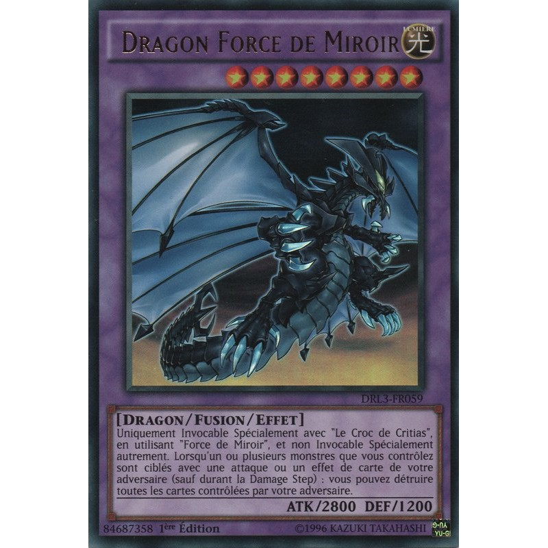 Yugioh le d chainement des dragons de l gende dragon for Force de miroir ebay