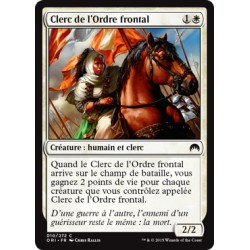Blanche - Clerc de l'Ordre frontal (C) [ORI] FOIL