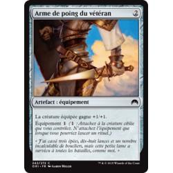 Artefact - Arme de poing du vétéran (C) [ORI] FOIL