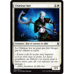 Blanche - Châtieur kor (C) [BFZ] FOIL