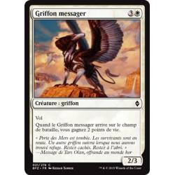 Blanche - Griffon messager (C) [BFZ] FOIL