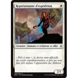 Blanche - Représentante d'expédition (U) [BFZ] FOIL