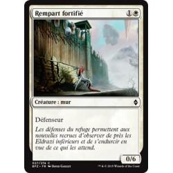 Blanche - Rempart fortifié (C) [BFZ] FOIL