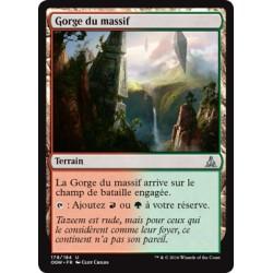Terrain - Gorge du Massif (U) [OGW] FOIL