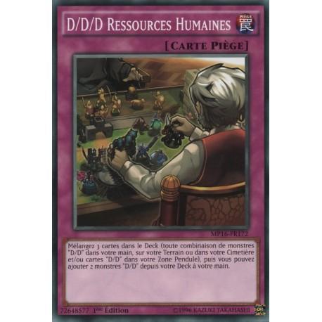 D/D/D Ressources Humaines (C) [MP16]