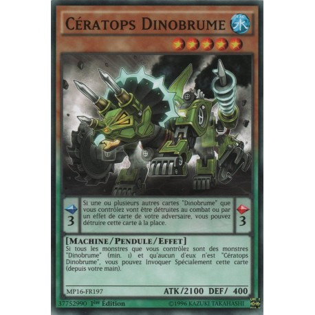 Cératops Dinobrume (C) [MP16]