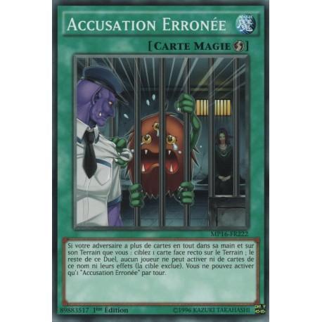Accusation Erronée (SP) [MP16]