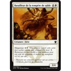 Blanche - Batailleur de la Tempête de Sable (C) [DTK] FOIL