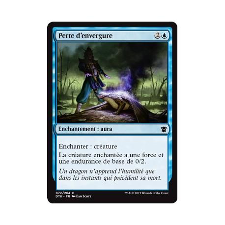 Bleue - Perte d'envergure (C) [DTK] FOIL