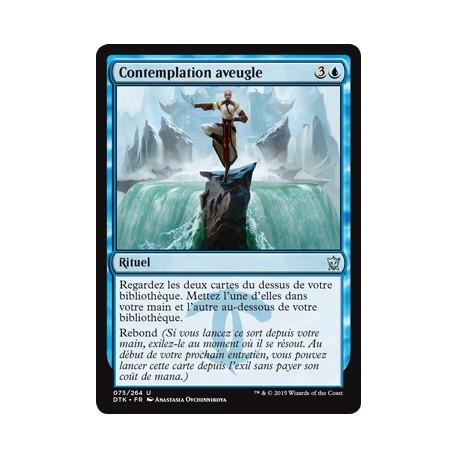 Bleue - Contemplation aveugle (U) [DTK] FOIL