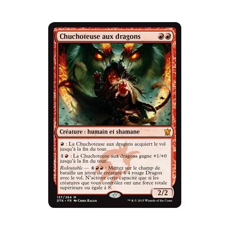Rouge - Chuchoteuse aux Dragons (M) [DTK] FOIL