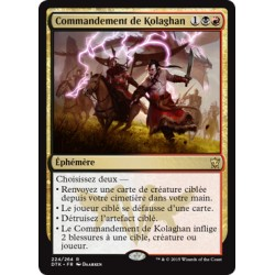 Or - Commandement de Kolaghan (R) [DTK] FOIL