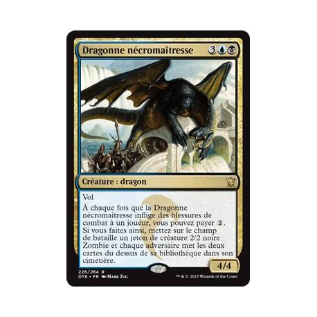 Or - Dragonne nécromaîtresse (R) [DTK] FOIL