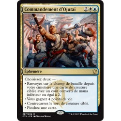 Or - Commandement d'Ojutaï (R) [DTK] FOIL