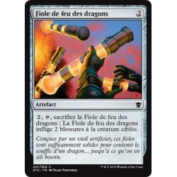 Artefact - Fiole de feu des dragons (C) [DTK] FOIL