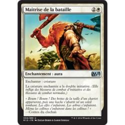 Blanche - Maîtrise de la bataille (U) [M15] FOIL