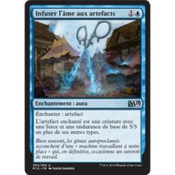 Bleue - Infuser l'âme aux artefacts (U) [M15] FOIL
