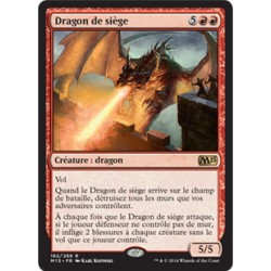 Rouge - Dragon de siège (R) [M15] FOIL