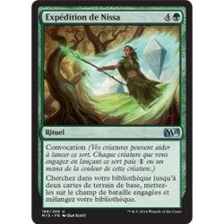 Verte - Expédition de Nissa (U) [M15] FOIL