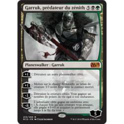 Or - Garruk, prédateur du zénith (M) [M15] FOIL