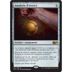 Artefact - Amulette d'avarice (R) [M15] FOIL