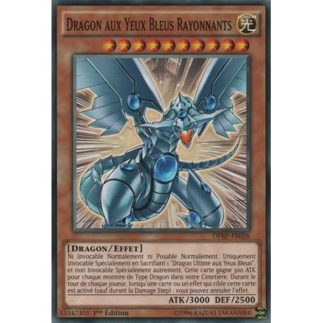 Yugioh - Dragon aux Yeux Bleus Rayonnant (C) [DPRP]