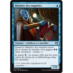 Bleue - Ministre des enquêtes (U) [KLD]
