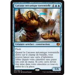 Bleue - Carcasse mécanique torrentielle (M) [KLD]