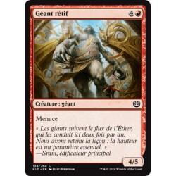 Rouge - Géant rétif (C) [KLD]