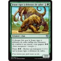 Verte - Jeune tigre à défenses de sabre (U) [KLD]