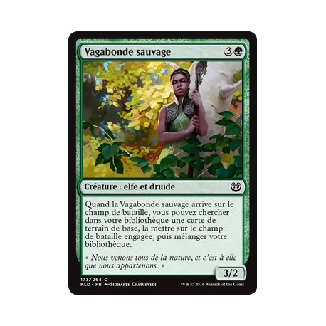 Verte - Vagabonde sauvage (C) [KLD]