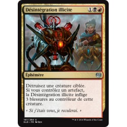 Or - Désintégration illicite (U) [KLD]