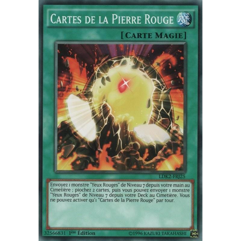 CARTES DE LA PIERRE ROUGE LDK2-FRJ25 Yu-gi-oh
