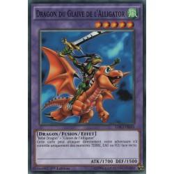 Yugioh - Dragon du Glaive de l'Alligator (C) [LDK2]