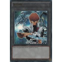 Yugioh - Jeton Kaiba et Dragon Blanc aux Yeux Blanc (UR) [LDK2]