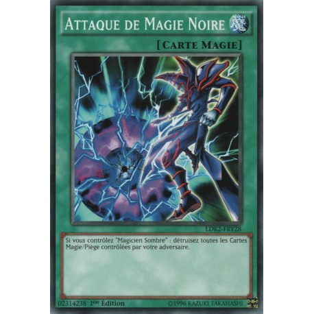Yugioh - Attaque de Magie Noire (C) [LDK2]
