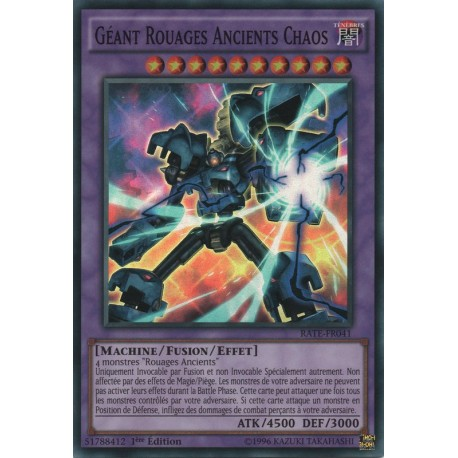 Yu-Gi-Oh Géant rouages Ancient Chaos RATE-FR041