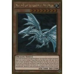 Dragon Blanc Alternatif Aux Yeux Bleus (GOLD) [MVP1G]