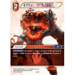 Final Fantasy - Feu - Belias, le Titan (FF2-019R) (Foil)