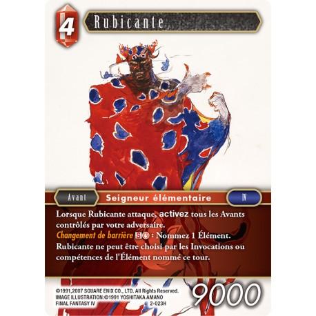 Final Fantasy - Feu - Rubicante (FF2-023H) (Foil)