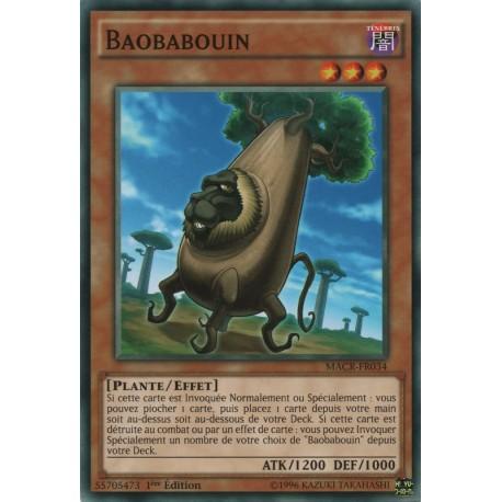 Yugioh - Baobabouin  (C) [MACR]
