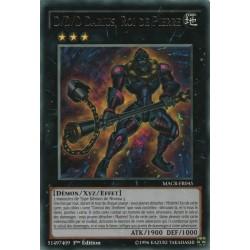 Yugioh - D/D/D Darius, Roi de Pierre  (R) [MACR]