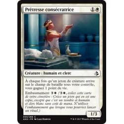 Blanche - Prêtresse consécratrice (C) [AKH] FOIL