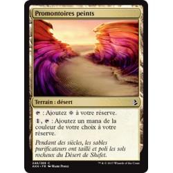 Terrain - Promontoires peints (C) [AKH] FOIL
