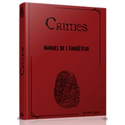 Crimes - Manuel de l'Enqueteur Collector