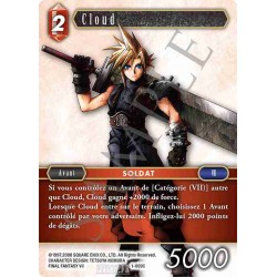 Final Fantasy - Feu - Cloud (FF1-009C) (Foil)