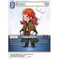 Final Fantasy - Eau - Erudit (FF1-157C) (Foil)
