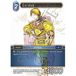 Final Fantasy - Eau - Gordon (FF1-160H) (Foil)