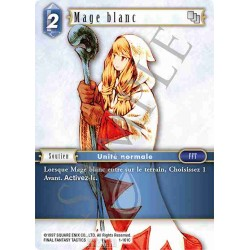 Final Fantasy - Eau - Mage blanc (FF1-161C) (Foil)