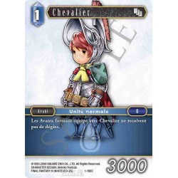 Final Fantasy - Eau - Chevalier (FF1-166C) (Foil)